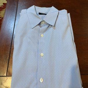 theory long sleeve dress shirt